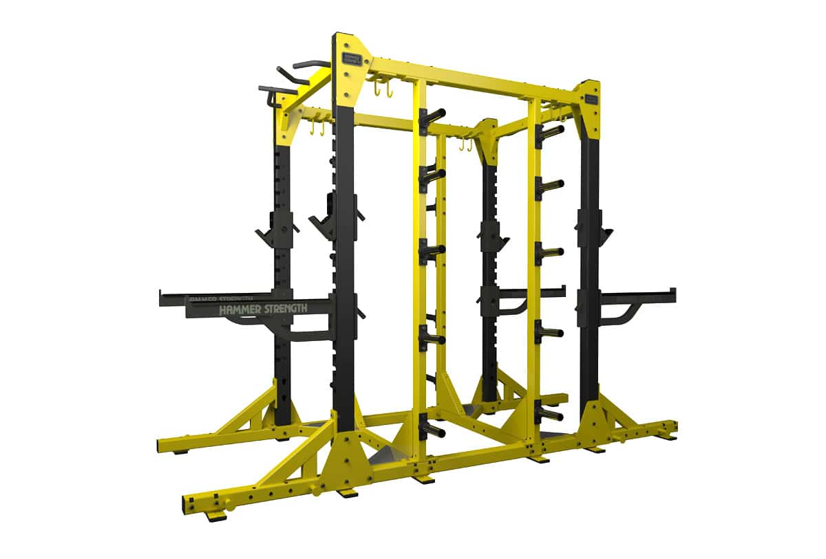 Hammer Strength Elite Power Rack Weight Training