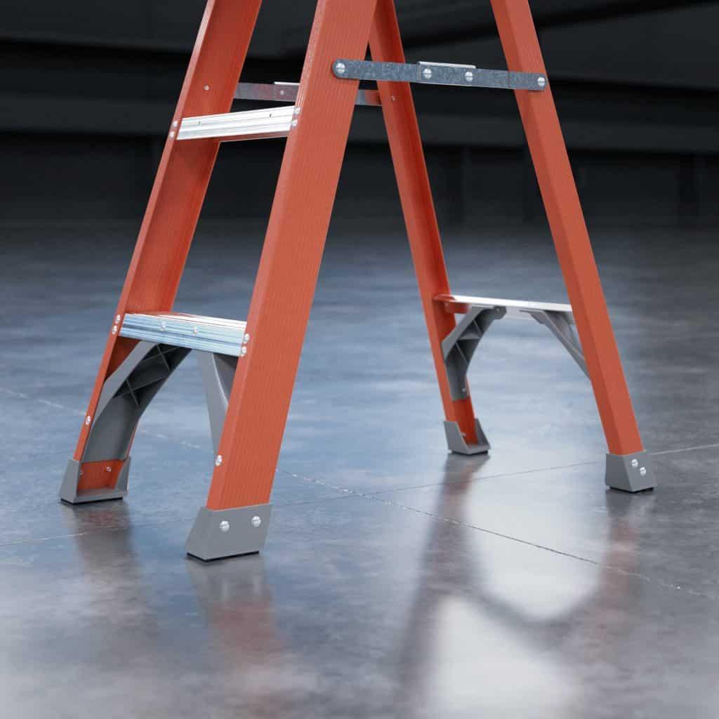 Keller 97 Series Fiberglass Step Ladder Feature
