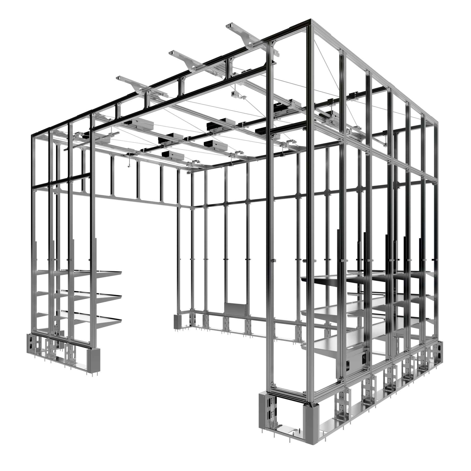 Carlson Fixtures Fast Retail Frame