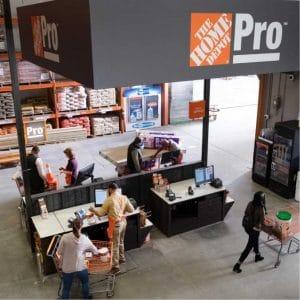 Home Depot Pro Checkout